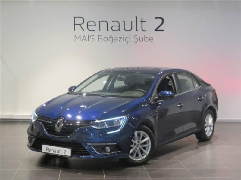 2018 Dizel Otomatik Renault Megane Mavi MAİS-BOĞAZİÇİ