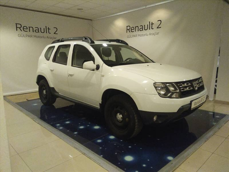 2017 Dizel Manuel Dacia Duster Beyaz GÜLPAR