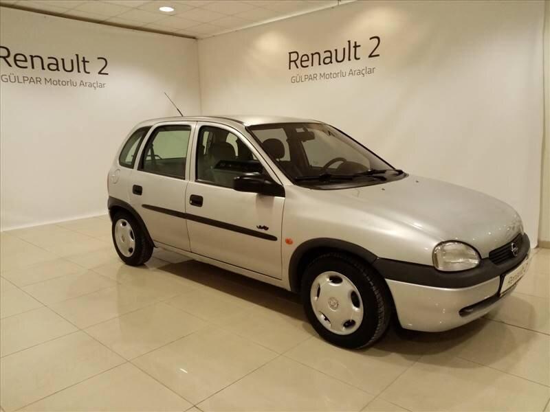 1998 Benzin + LPG Manuel Opel Corsa Gümüş Gri GÜLPAR