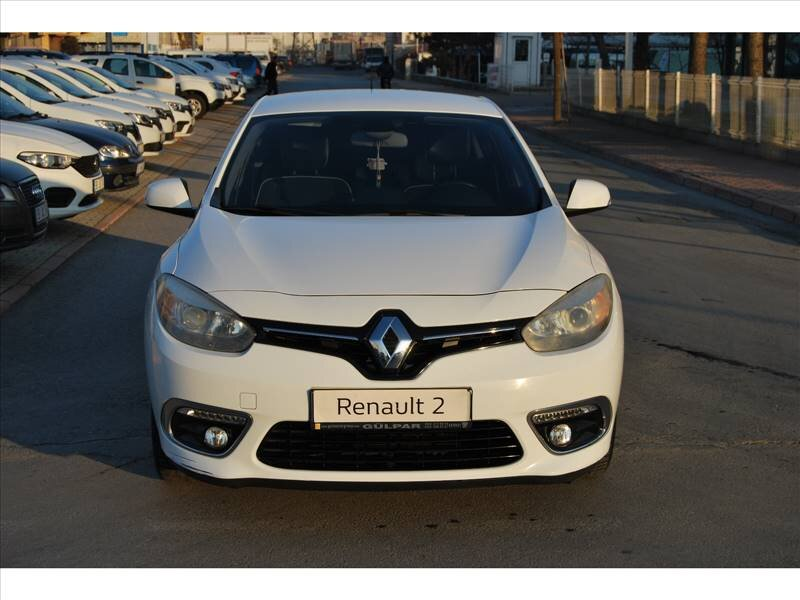 2013 Benzin Otomatik Renault Fluence Beyaz GÜLPAR