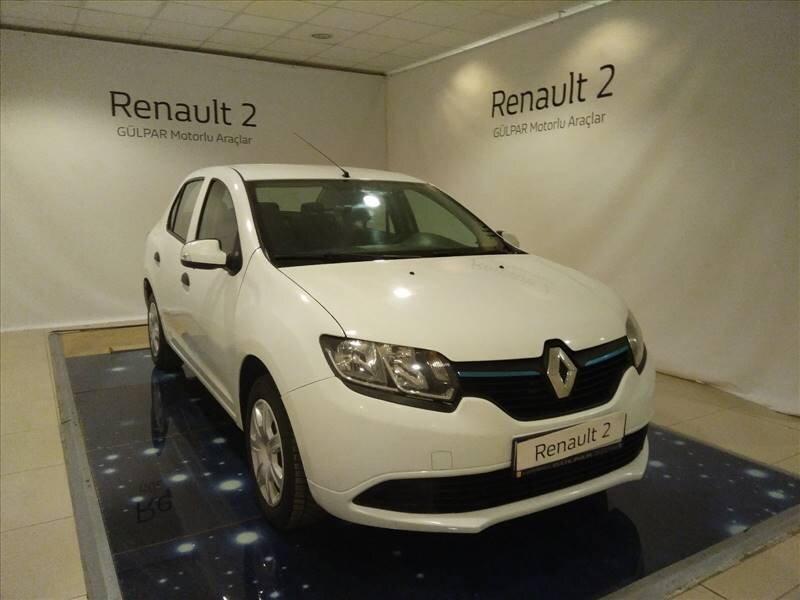 2016 Benzin + LPG Manuel Renault Symbol Beyaz GÜLPAR