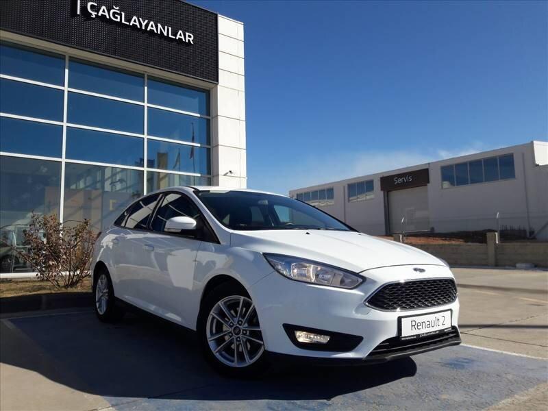 2018 Dizel Otomatik Ford Focus Beyaz ÇAĞLAYANLAR