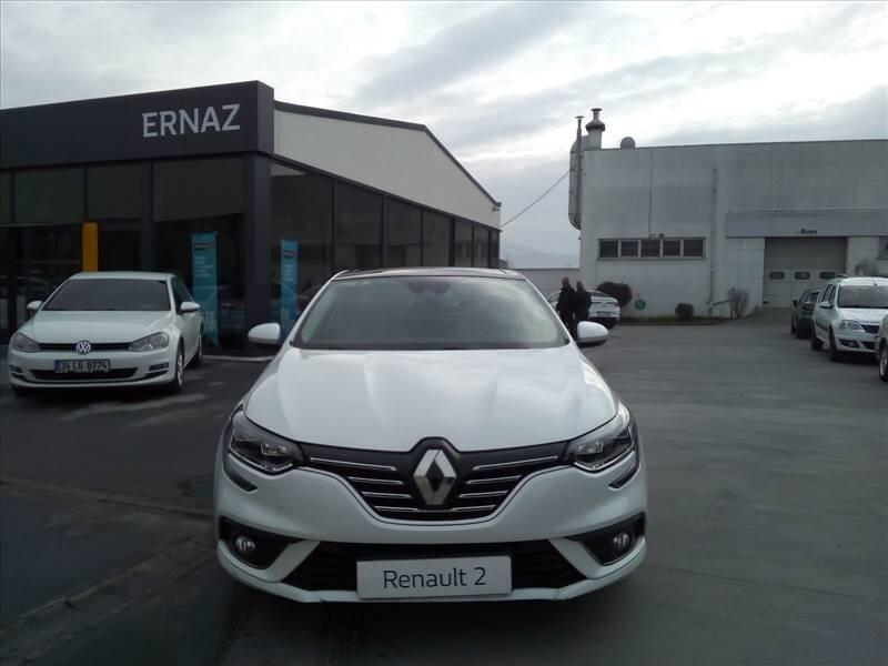 2016 Dizel Otomatik Renault Megane Beyaz ERNAZ OTO