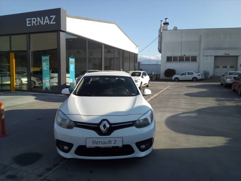 2014 Dizel Otomatik Renault Fluence Beyaz ERNAZ OTO