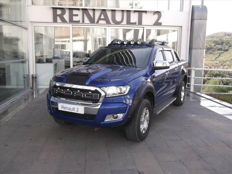2016 Dizel Otomatik Ford Ranger Mavi KUTAY AŞ.