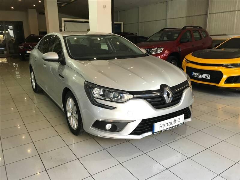 2016 Dizel Otomatik Renault Megane Gri GÜVEN ALTAN