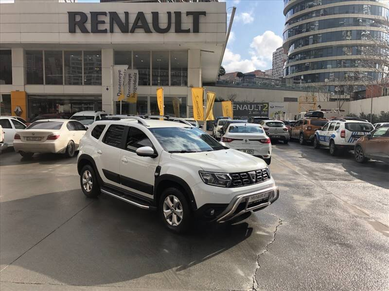 2018 Dizel Otomatik Dacia Duster Beyaz ABC MOTO ARÇ