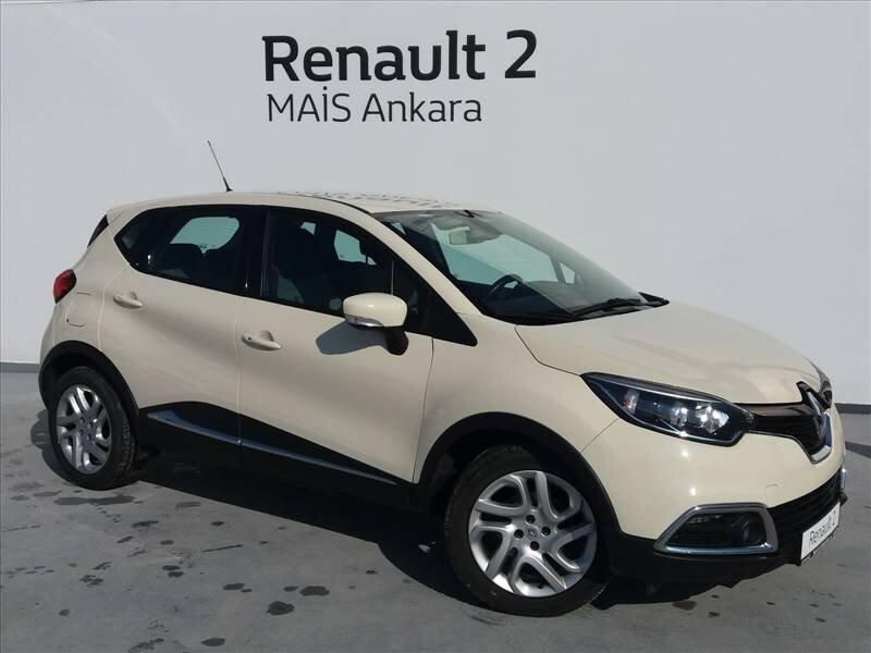 2013 Benzin Otomatik Renault Captur Bej MAİS-ANKARA