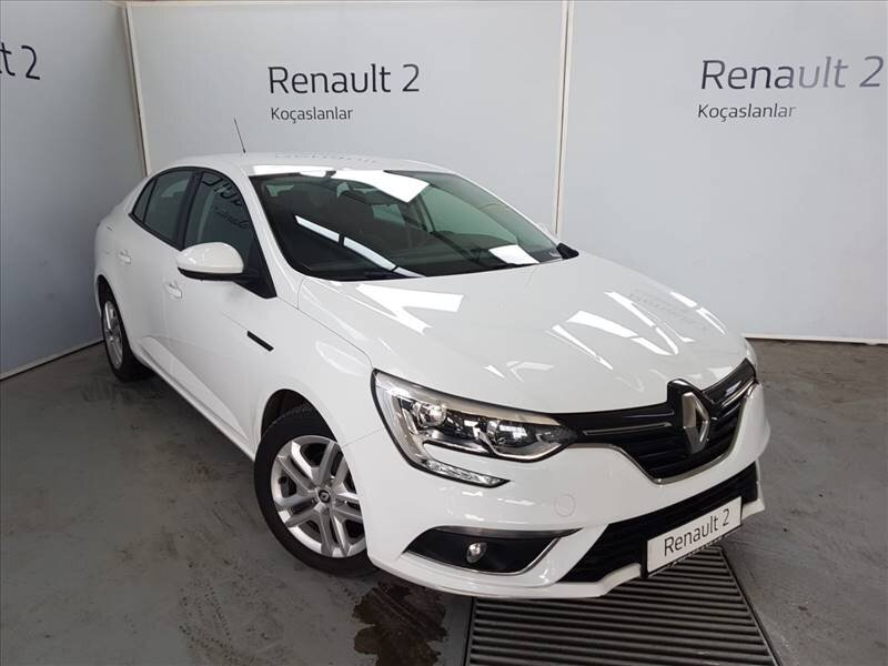 2018 Dizel Otomatik Renault Megane Beyaz KOÇASLANLAR