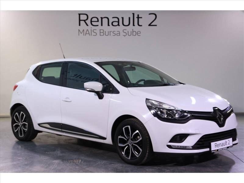 2018 Dizel Otomatik Renault Clio Beyaz MAİS-BURSA