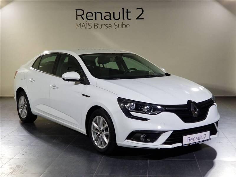 2016 Dizel Otomatik Renault Megane Beyaz MAİS-BURSA