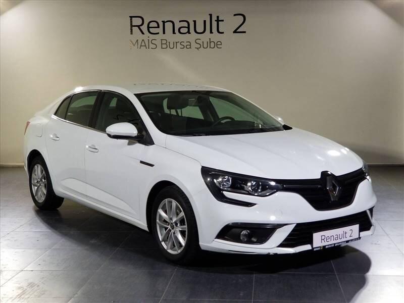 2017 Dizel Otomatik Renault Megane Beyaz MAİS-BURSA