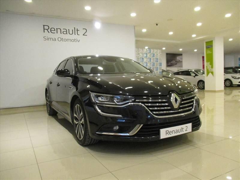 2016 Dizel Otomatik Renault Talisman Siyah SİMA OTOMOTİV