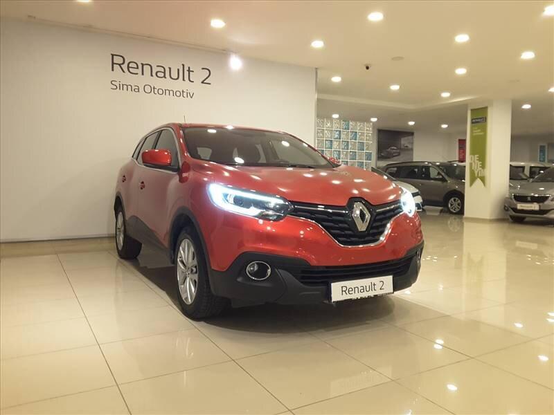 2015 Dizel Otomatik Renault Kadjar Kırmızı SİMA OTOMOTİV