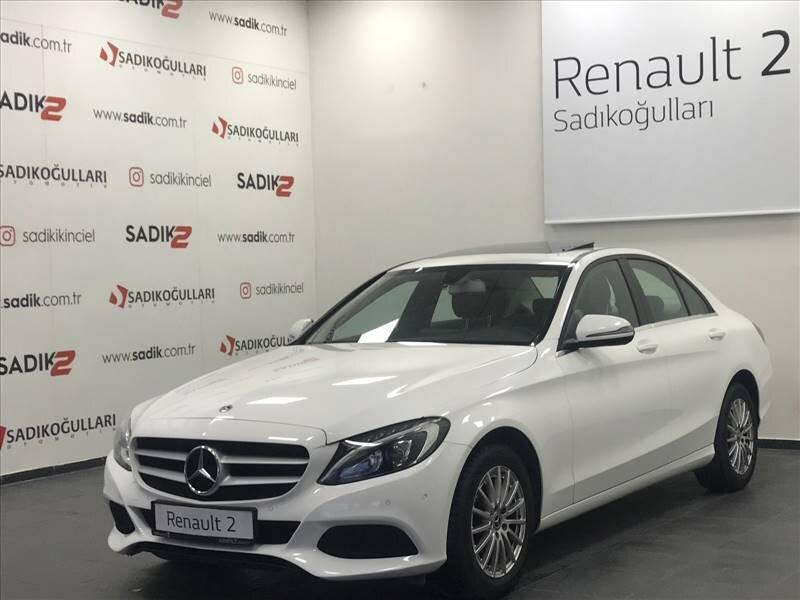 2017 Dizel Otomatik Mercedes-Benz C Beyaz SADIKOĞULLARI