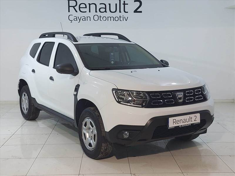 2020 Dizel Manuel Dacia Duster Beyaz ÇAYAN OTOMOTİV