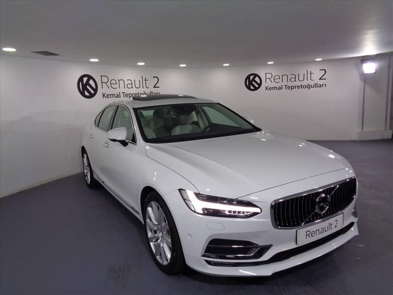 2018 Dizel Otomatik Volvo S90 Beyaz KEMAL TEPRET