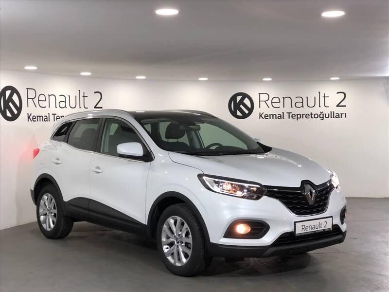 2020 Benzin Otomatik Renault Kadjar Beyaz KEMAL TEPRET