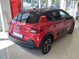 2020 Benzin Otomatik Citroen C3 Kırmızı ÇAYAN OTOMOTİV