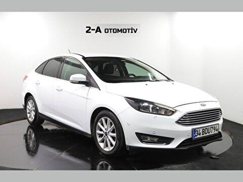 2018 Dizel Otomatik Ford Focus Beyaz 2-A OTOMOTIV