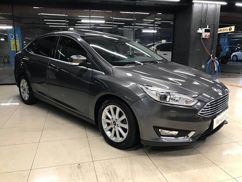 2017 Dizel Otomatik Ford Focus Füme ASF OTO