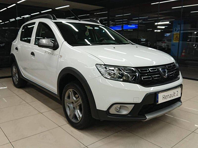2020 Benzin Otomatik Dacia Sandero Beyaz ASF OTO