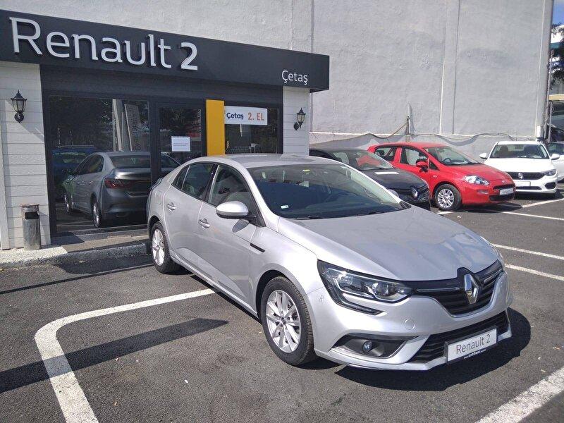 2017 Dizel Otomatik Renault Megane Gri RENAULT ÇETAŞ