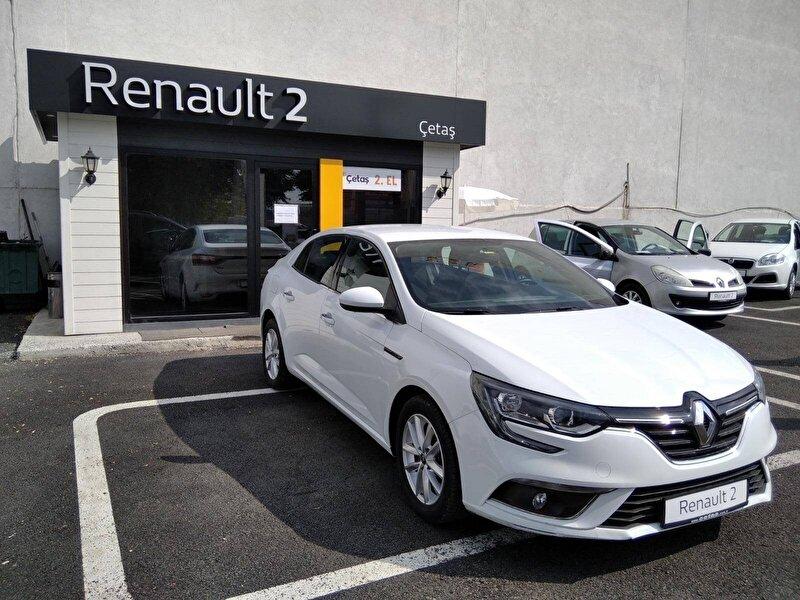 2020 Dizel Otomatik Renault Megane Beyaz RENAULT ÇETAŞ