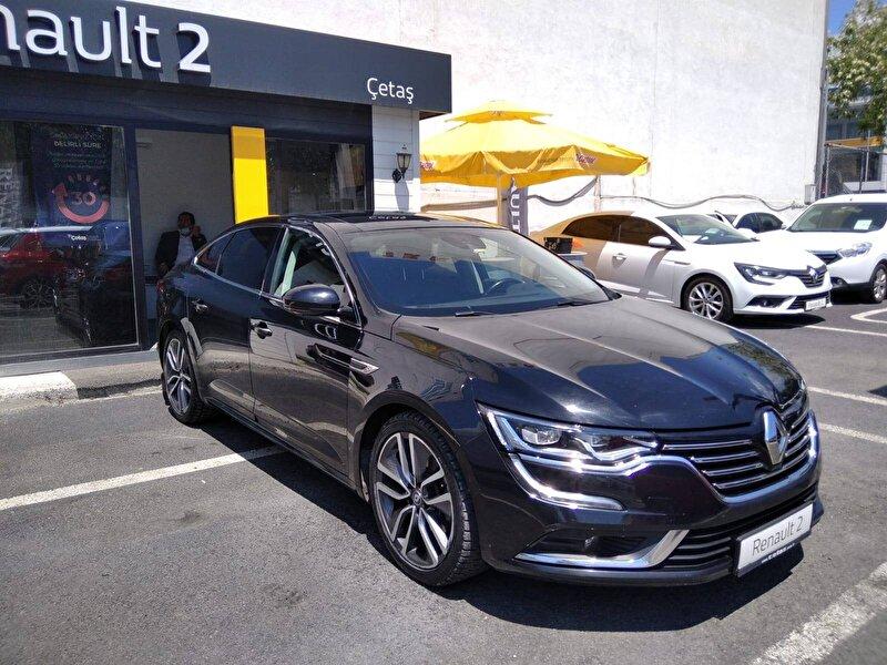 2016 Dizel Otomatik Renault Talisman Siyah RENAULT ÇETAŞ