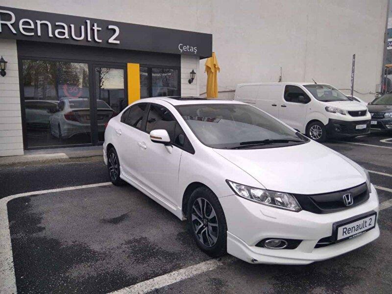 2015 Benzin Otomatik Honda Civic Beyaz RENAULT ÇETAŞ