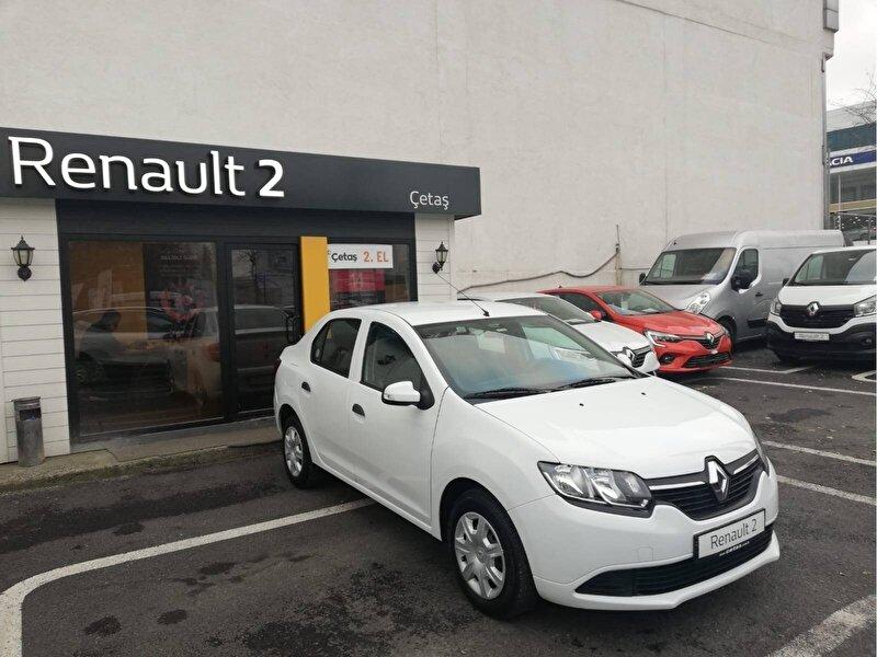 2016 Dizel Manuel Renault Symbol Beyaz RENAULT ÇETAŞ