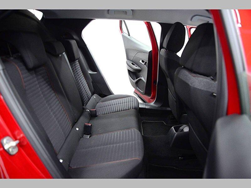2020 Benzin Otomatik Peugeot 2008 Kırmızı KAHVECİ 2.EL