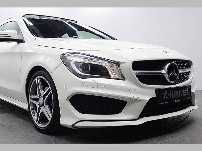 2016 Benzin Otomatik Mercedes-Benz CLA Beyaz KAHVECİ 2.EL