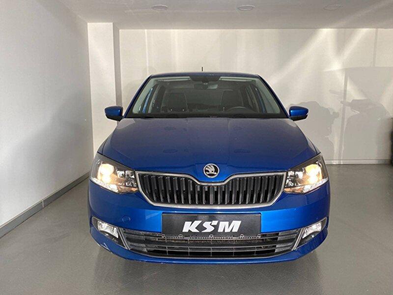 2016 Benzin Otomatik Skoda Fabia Mavi KSM OTOMOTİV