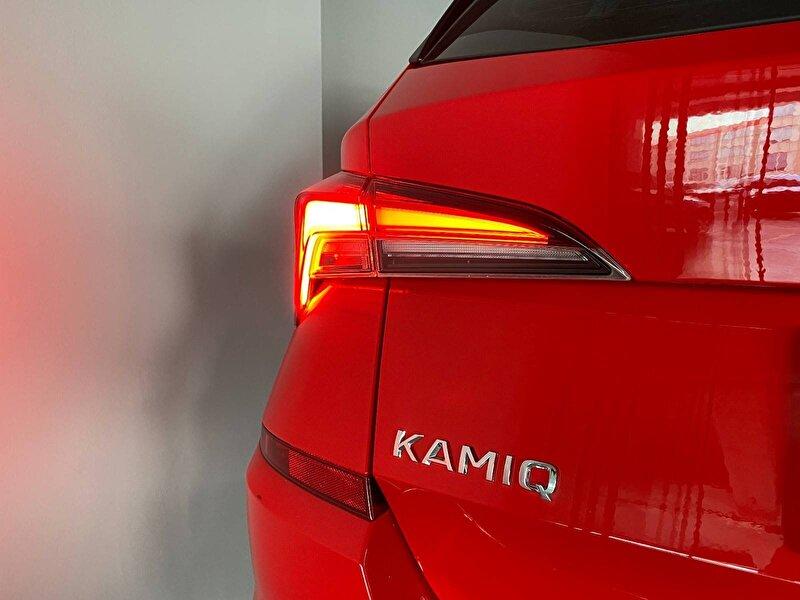 2020 Benzin Otomatik Skoda Kamiq Kırmızı KSM OTOMOTİV