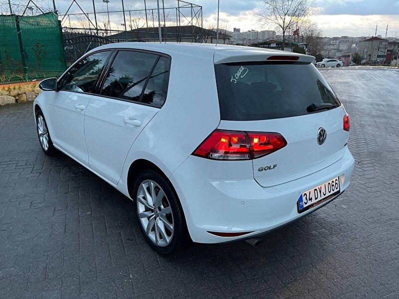 2013 Dizel Otomatik Volkswagen Golf Beyaz LENACARS OTOSTA