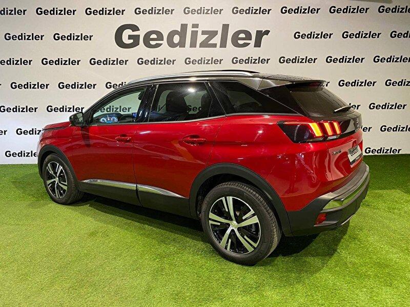2020 Dizel Otomatik Peugeot 3008 Kırmızı GEDİZLER OTOMOT