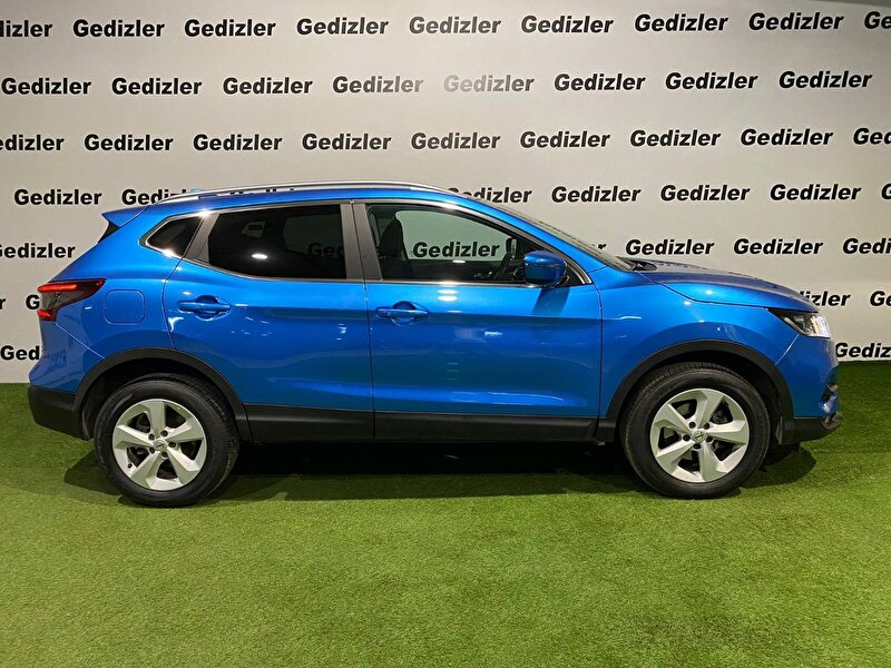 2020 Benzin Otomatik Nissan Qashqai Mavi GEDİZLER OTOMOT