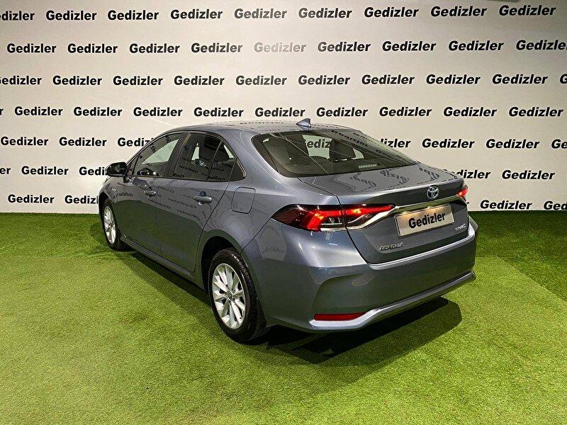 2021 Hybrid Otomatik Toyota Corolla Gri GEDİZLER OTOMOT