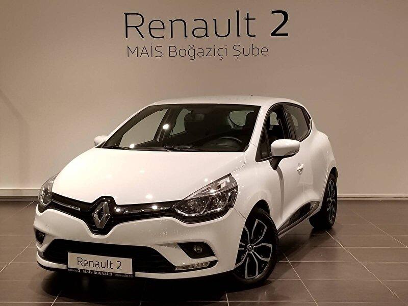 2019 Dizel Otomatik Renault Clio Beyaz MAİS-BOĞAZİÇİ