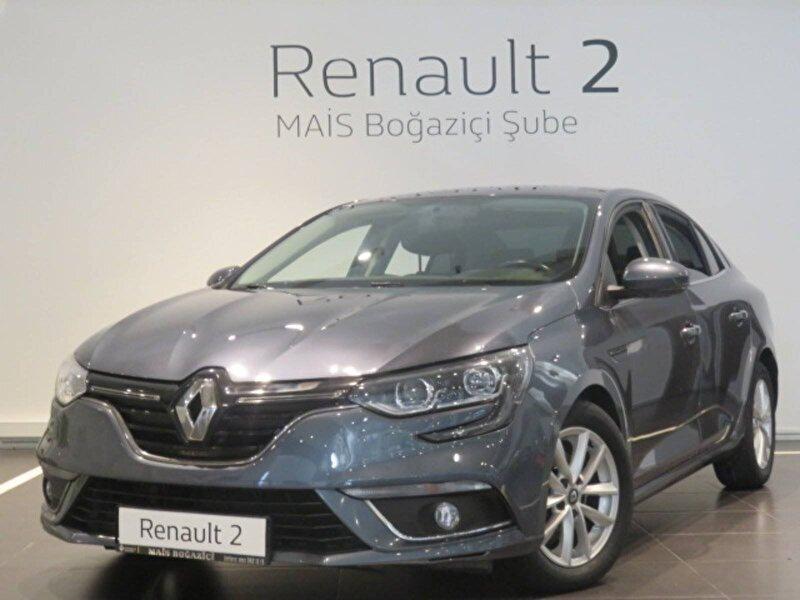 2017 Dizel Otomatik Renault Megane Gri MAİS-BOĞAZİÇİ