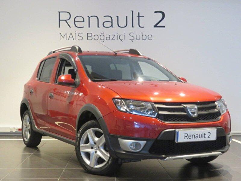 2016 Dizel Manuel Dacia Sandero Kırmızı MAİS-BOĞAZİÇİ