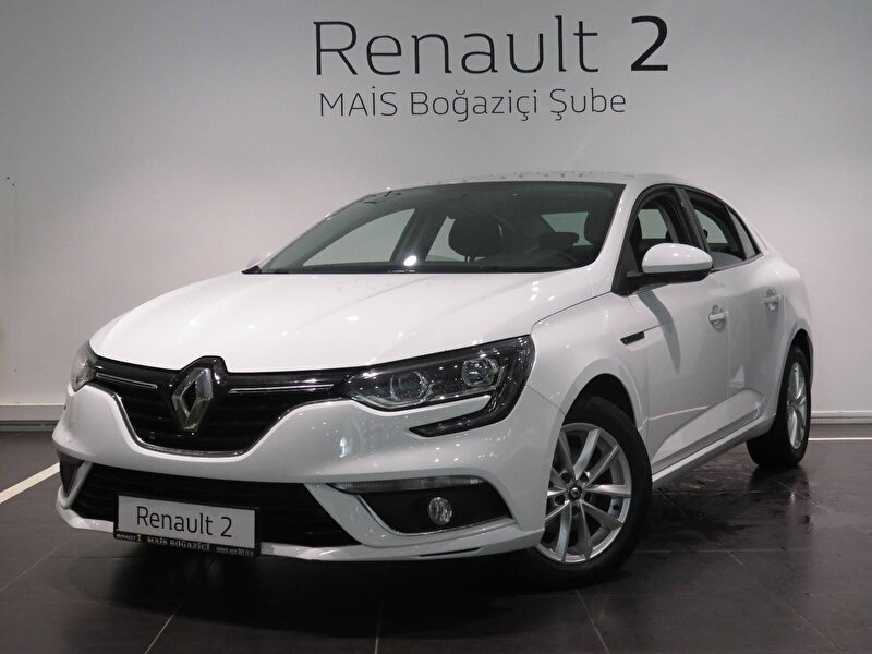 2020 Dizel Otomatik Renault Megane Beyaz MAİS-BOĞAZİÇİ