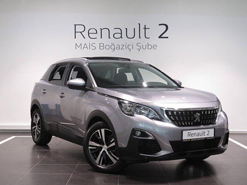2020 Dizel Otomatik Peugeot 3008 Gri MAİS-BOĞAZİÇİ