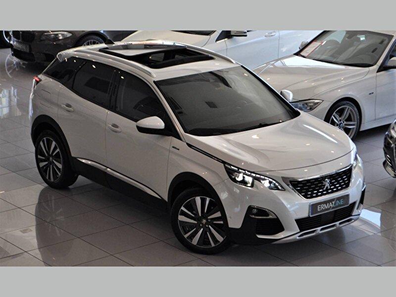 2017 Dizel Otomatik Peugeot 3008 Beyaz ERMAT