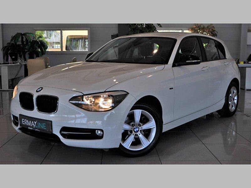 2012 Benzin Otomatik BMW 1 Serisi Beyaz ERMAT RENAULT