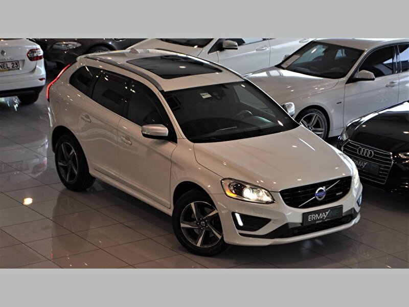 2014 Dizel Otomatik Volvo XC60 Beyaz ERMAT RENAULT