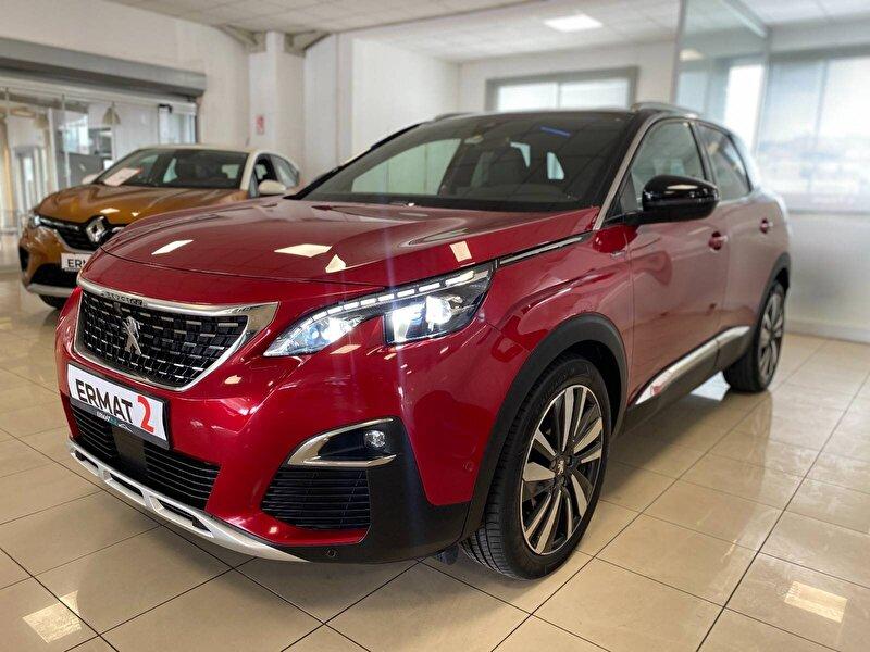 2017 Dizel Otomatik Peugeot 3008 Kırmızı ERMAT RENAULT