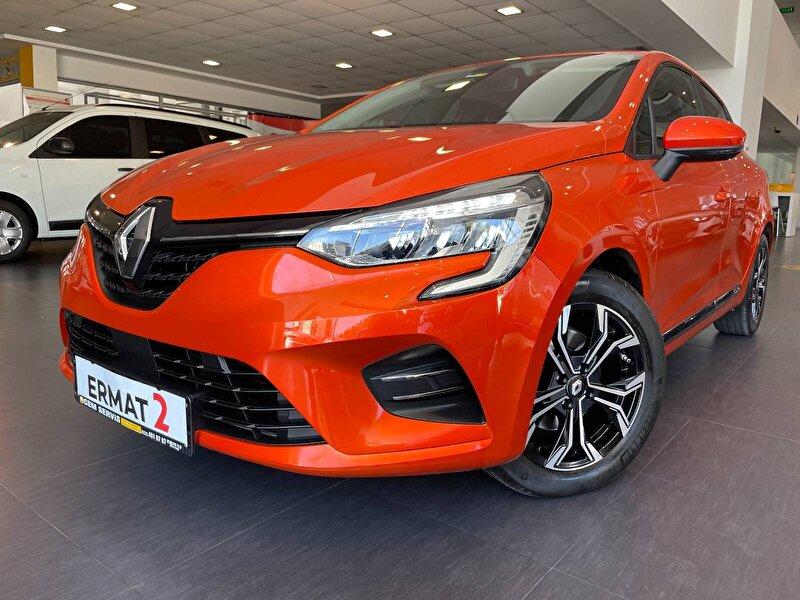 2020 Benzin Otomatik Renault Clio Turuncu ERMAT