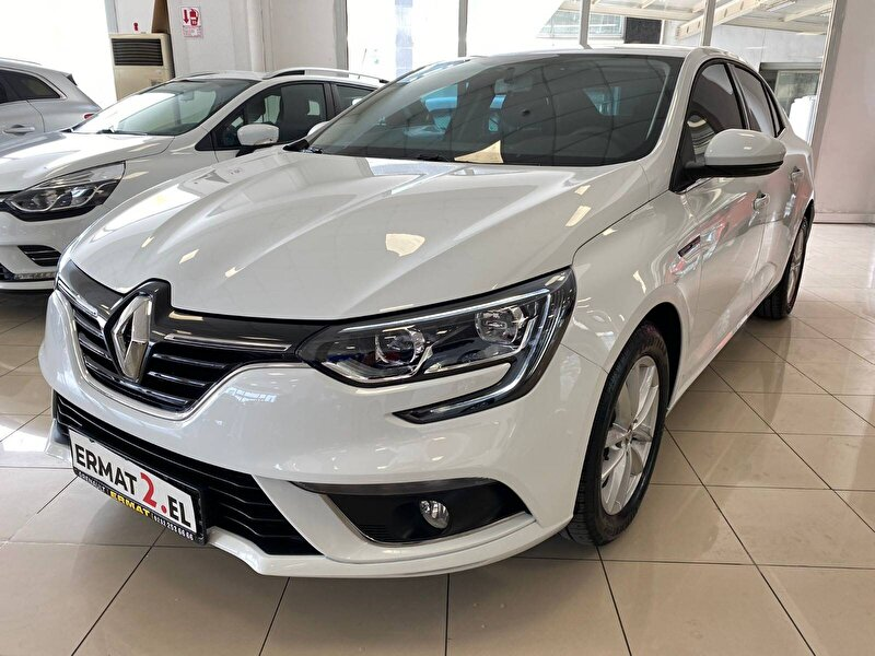 2020 Dizel Otomatik Renault Megane Beyaz ERMAT
